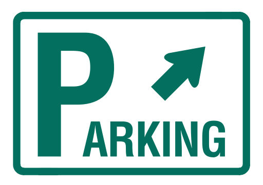 Clip Art Parking Lot Clipart parking lot logo ciij 30 min standing zone located across the street on clybourn 512 x 361