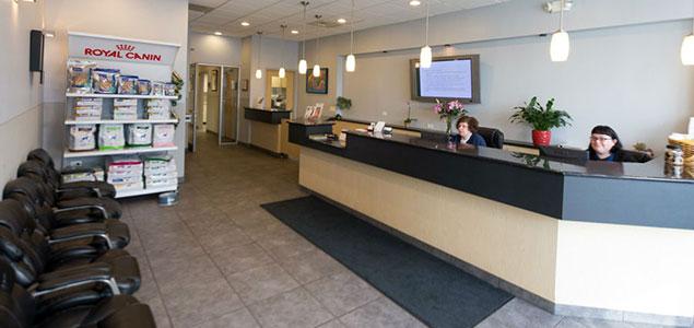 Roscoe Village Animal Hospital | Reception